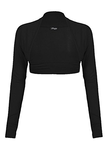 Fast Fashion Damen Plain Langen Ärmeln Plus Size Bolero Strickjacke Oben