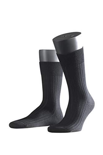 FALKE Herren Socken Bristol Pure - 91{240f1f0cda068af9d1c13a72d37f7f3b5196f8dae9f97e8aa89ea260594d4021} Merinowolle, 1 Paar, Schwarz (Black 3000), Größe: 45-46