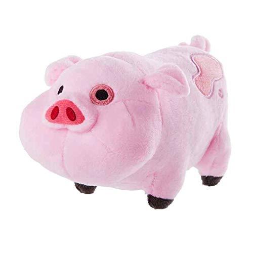 Hotaden Regalos 1pc 18cm Juguetes de Peluche Gravedad Falls Waddles Osa Mayor Mabel Pink Pig Muñecas y Stuffe Waddles Suave Relleno muñecas de cumpleaños de los niños