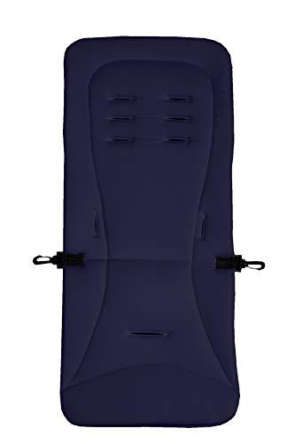 Altabebe AL3010-01 - Cojín para silla de paseo (250 g), color azul marino