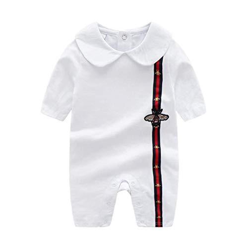 RJFAB Baby Kleding Lente Herfst Lange Mouw Pasgeboren Klimmen Pak Uitgaan Baby Onesies 0-24 Maanden Pasgeborenen Jumpsuit