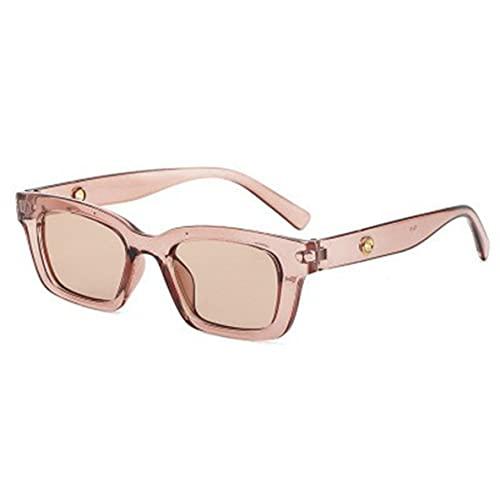 ACEHE Gafas de Sol, Gafas de Sol Vintage rectangulares para Mujer, Gafas de Sol Puntiagudas Retro, Gafas de Mujer para Mujer, Ojo de Gato, Gafas de conducción (Rosa + Rosa)