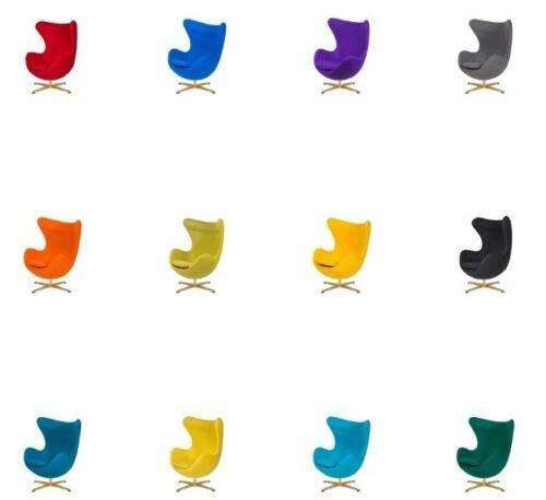 ElleDesign Poltrona Base Oro Chair Girevole Colore a Scelta introvabile
