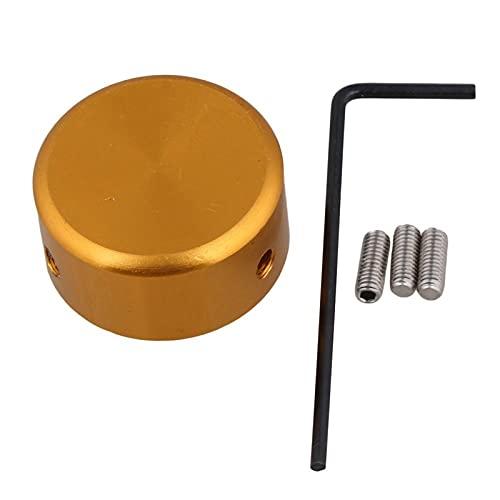conpoir Interruptor de Pedal Topper de Metal Pedal de protección de Pedal Efecto Pedal Interruptor Topper Pie Clavo con Llave