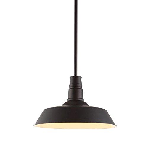 Hot Sale Zuo Modern 98245 Tin Ceiling Lamp, Rust