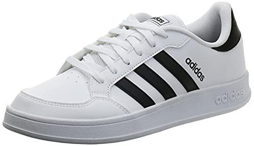 Adidas BREAKNET, Zapatillas Hombre, Ftwbla Negbás Negbás, 45 1/3 EU