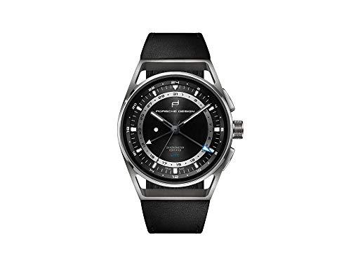 Reloj Automático Porsche Design 1919 Globetimer UTC, Titanio, 6023.4.05.001.07.2