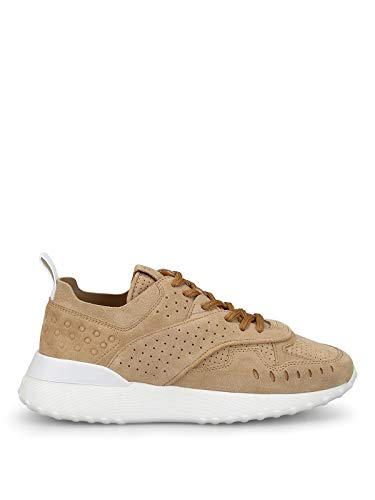 Luxury Fashion | Tod's Dames XXW80A0W590J9EC603 Beige Leer Sneakers | Seizoen Outlet