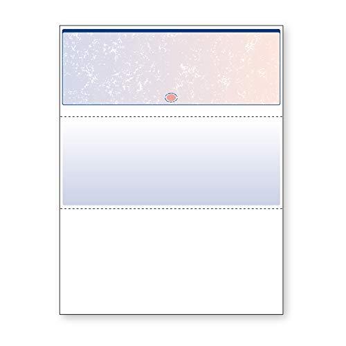 DocuGard Blue/Red Prismatic Top Check, 8.5 x...