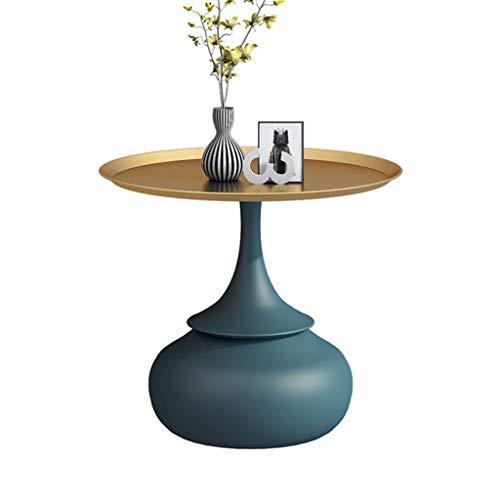 WXL Pequeña mesa de centro de luz de lujo mesa de café nórdico mesa redonda sofá mesa auxiliar moderna minimalista creativo pequeña mesa mesa mesa mesa mesa de mesa de extremo mesas