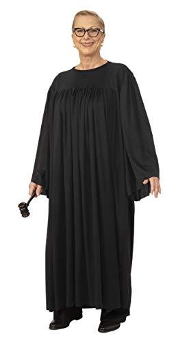 Rubie's Unisex-Adult's Judge Costume, Black, Standard