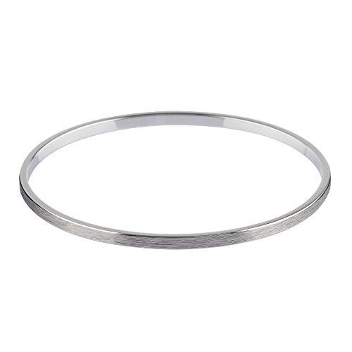 Ernstes Design Armreif Edelstahl A1563 Armband geschliffen
