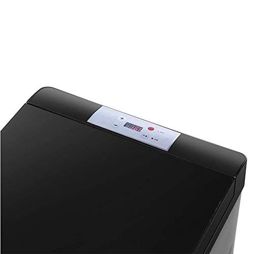 NLRHH Refrigerador de automóviles, Doble Mini Congelador de refrigerador 30L Mini Frigorífico Portátil Busque Inoxidable Dormitorio, Oficina o Dorm-B 37x58x36.5cm (15x23x14inch) Peng