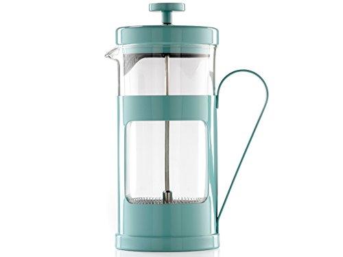 La Cafetière Monaco 8 Cup Cafetière, Retro Blue – 1 L (35 fl oz)