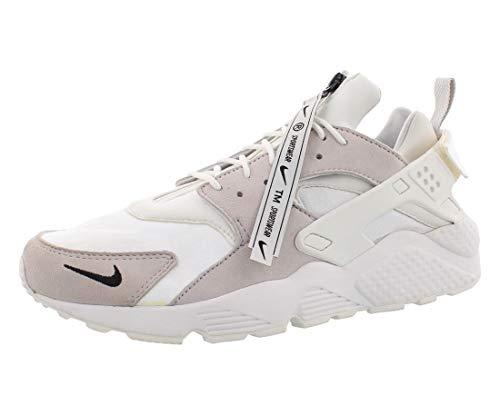 Nike Mens Air Huarache Fashion Sneakers (13 M US, White/Vast Grey-Summit White)
