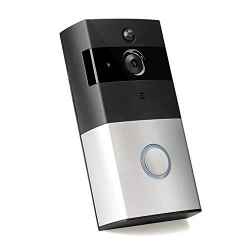 M1 Beveiliging Draadloze IP Deurbel 720P Infrarood Nachtzicht Alarm Deurtelefoon Zwart & Wit