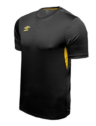 UMBRO Core Training Jersey Camiseta De Fútbol, Hombre, Negro, M