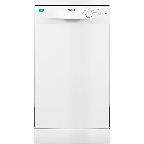 Zanussi ZDS12002WA Freestanding Slimline Dishwasher with Airdry Technology,...