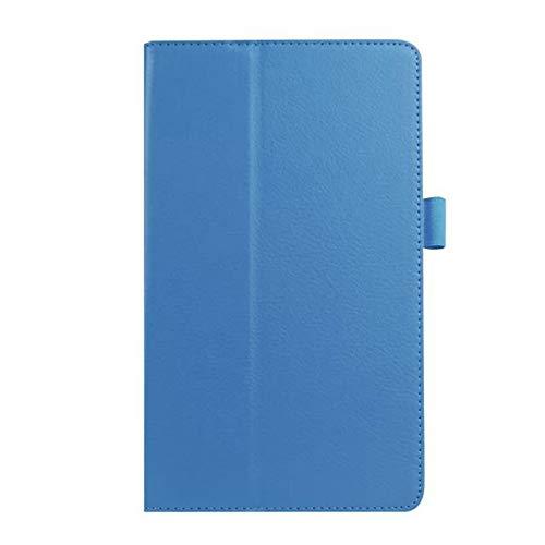 GOGODOG LG G Pad X8.3 Funda Ultra Delgado 8.3 Pulgadas Soporte Funda Protectora de Cuero para protección Corporal Completa Parachoques Protector de Carcasa LG X8.3 (Azul)