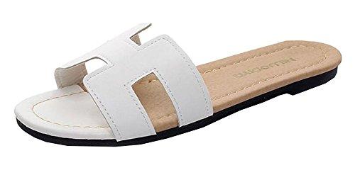 East Majik Hausschuhe rutschfeste Dusch-Sandalen Haus Pool Schuhe