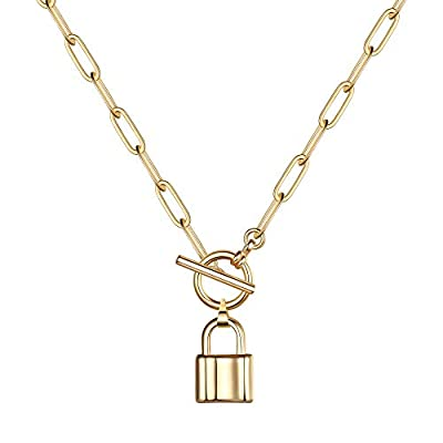 Turandoss Gold Necklaces for Women - 14K Gold P...
