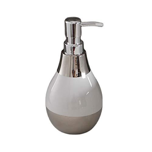 Dispensadores de jabón Asequible y fácil de usar Botella de desinfectante de la mano de la mano del hogar Dispensador del champú de la leche del cuerpo del baño Bomba de líquido Botella