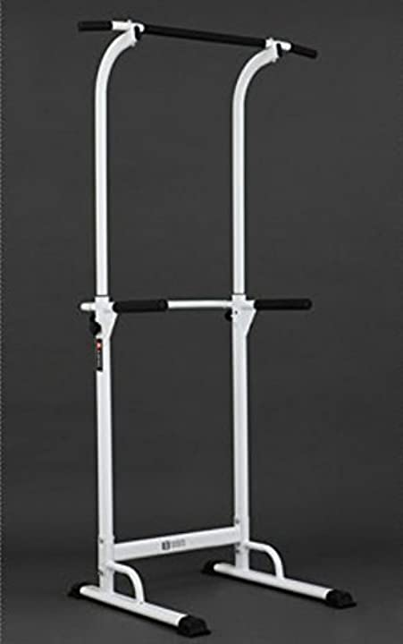 Pullup fitness - barra di trazione regolabile, postazione per sollevamento, con sedia romana B077Q6VMPT