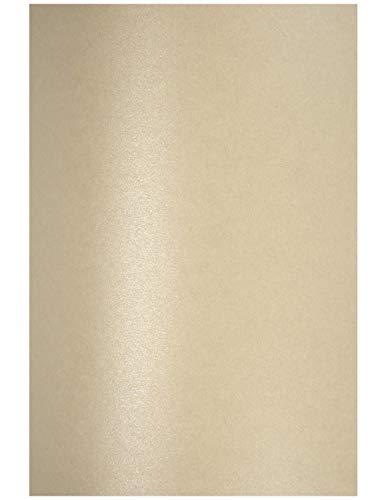 10 x Perlmutt-Sand 120g Papier DIN A4 210x297 mm Aster Metallic Sand Fein-Papier Bastel-Papier glänzend Perlglanz-Papier Effekt-Papier Pearl-Papier für Hochzeit Geburtstag Weihnachten Einladungen