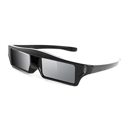 DOMO nHance AS21B USB Active Shutter Bluetooth 3D Glasses (Black)