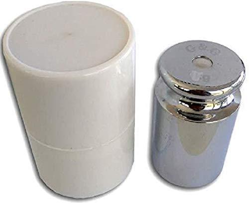 G & G M2 Eisen 100g Kalibriergewicht Prüfgewicht inkl. Schutzhülse/Kalibriergewicht für Digitalwaage von Waagen 100g