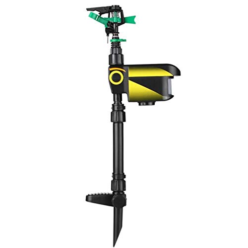 BYFRI Enforcer Motion-activated Sprinkler Scarecrow Motion Animal Repellent Motion Activated Jet Garden Motion Activated Water Deterrent Sprinkler