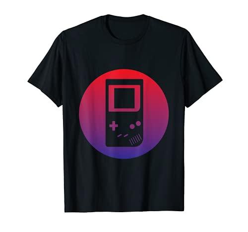 Console de jeu portable rétro – Gamer Dad Apparel T-Shirt