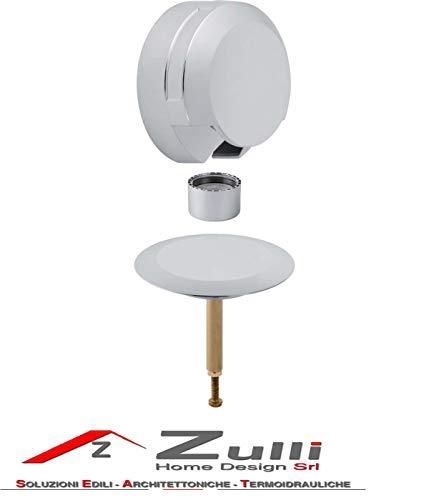 Geberit Uniflex Fertigmontage-Set D52 fuer BW mit Zu-, Ab- und Ueberlauf verchromt 150425211