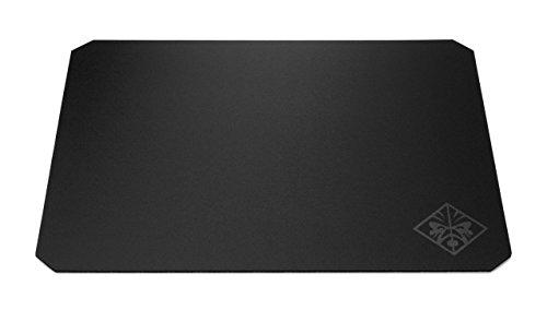 HP - Gaming Omen 200 Mouse Pad, Superficie Liscia e Antiscivolo, Tappetino in Tela, Texture Uniforme, Dimensione 45 x 40 x 0.4 cm, Nero