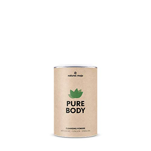 Natural Mojo Pure Body – Body Cleanse Kur (200 g) mit 8 Superfoods – 28-Tage-Kur für ein tolles Körpergefühl – vegan, gluten- und laktosefrei – mit Apfel-Geschmack