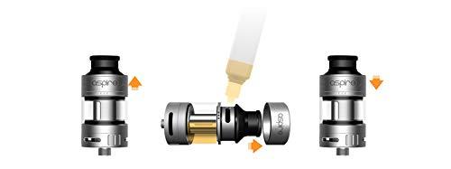 Aspire Cleito Pro Sub-Ohm Verdampfer (Silber) Enthält Kein Nikotin