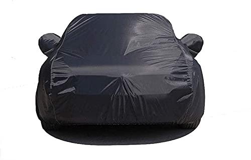 Qivor 2021 Soft Car Paño Negro Cubierta Negra Compatible con, Highlander RAV4 Prado FORTUNER CH-R SUV Cubierta Superior Super APROXIBLE Sun APROXIBLE (Color: RAV4) (Color : Prado)