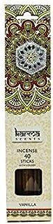 Karma Scents Incense Sticks and Holder Vanilla