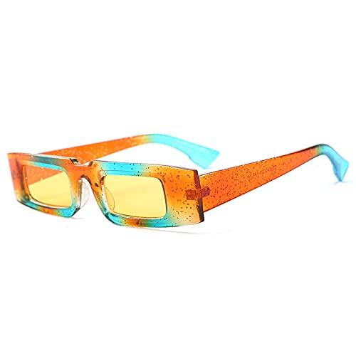 Gafas de sol cuadradas retro gafas transparentes UV400