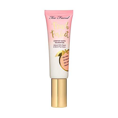 Peach Perfect Comfort Matte Foundation – Peaches and Cream Collection Natural Beige - light medium w/neutral undertones