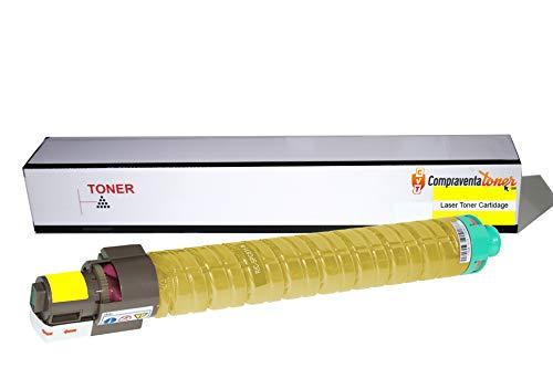 Cartucho de toner genérico amarillo Ricoh Aficio MP-C2800/MP-C3300 (841125) de alta calidad.