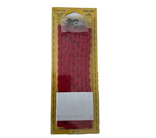 ONOGAL Cadena Roja Color Rojo 1 Velocidad 112 Pasos