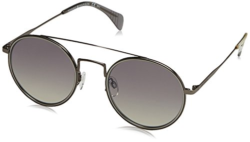 Tommy Hilfiger Unisex-Erwachsene TH 1455/S IC R80 53 Sonnenbrille, Grau (Smruthe/Grey Ms)