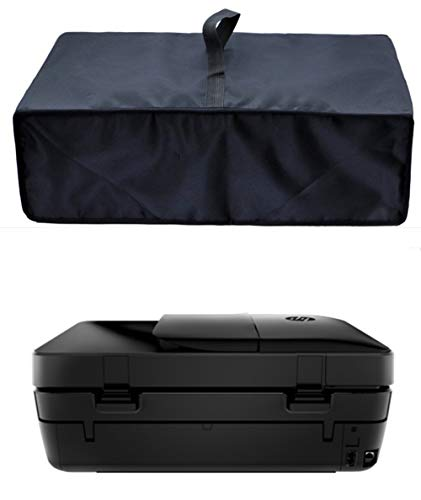 LQSC Waterproof Antistatic Nylon Fabric Dust Cover Protector for HP OfficeJet 3830/HP OfficeJet 4650/HP OfficeJet Pro 8025/8035/9015 All-in-One Wireless Printer