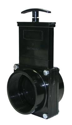 "Valterra 7307 ABS Gate Valve, Black, 3"" FPT from Valterra Products"