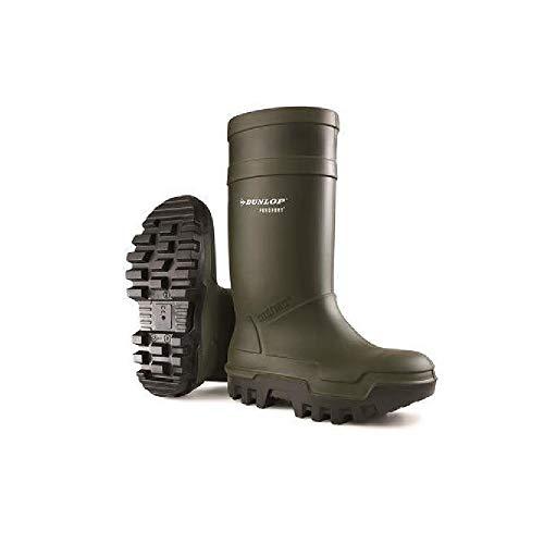 Dunlop C662933 Purofort Thermo + Sicherheits-Gummistiefel, für Herren, Grün