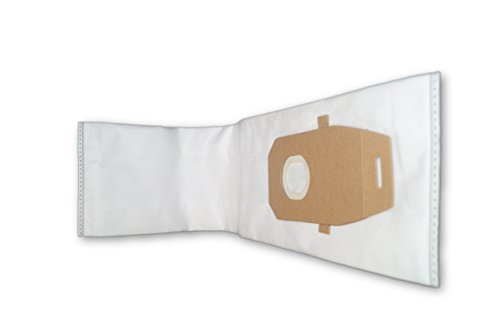 Zvac Replacement Hoover Vacuum Bags Compatible with Hoover Part # 302982002 & Ah10000 Fits Hoover Upright Vaccuums Using Q Type Bags - 10 Pack in A Bag