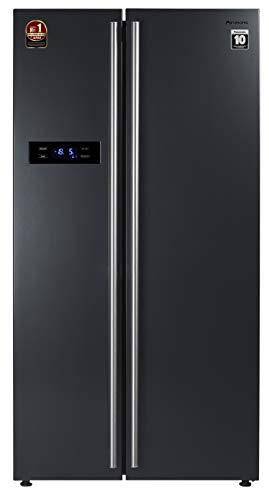 Panasonic 584 L with Inverter Side by Side Refrigerator (NR-BS60VKX1, Dark Grey)