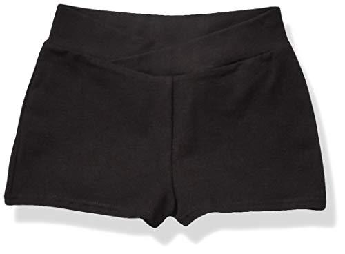 Capezio Big Girls' Boy Short,Black,M (8-10)