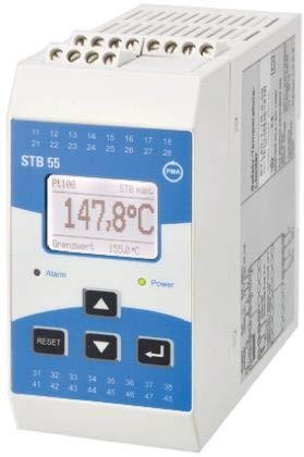 P.M.A STB 55 Temperature Limiter, 100 x 50mm Relay, 230 V ac Supply Voltage ON/OFF